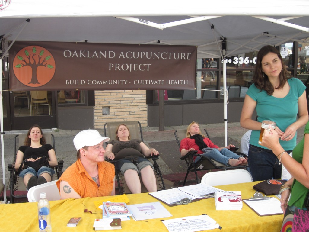 Oaktoberfest 2011 - OAP's booth